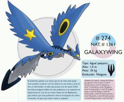 Pokemon Oryu 274 Galaxywing by shinyscyther