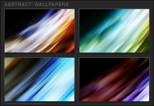 Abstract' Wallpapers by Benjigarner