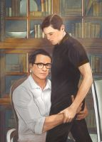 Harry and Eggsy by Everybery