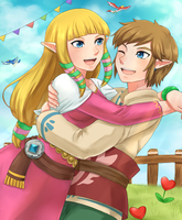 Sky Zelink by linzelkawaii