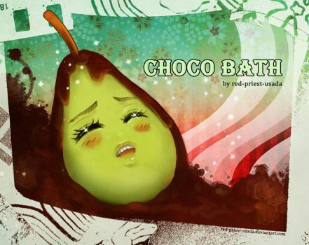 LOL WUT: Choco Bath by Red-Priest-Usada