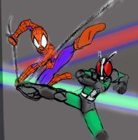 spiderman x rx by seasonsofthereaper
