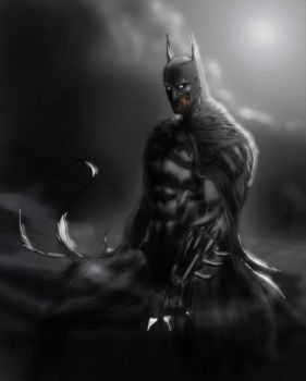 the batman full color by hairlessmonkee