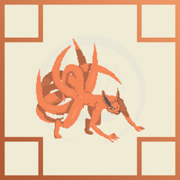 Kyuubi (Nine Tailed Fox) Pixel Animation by Levalier