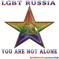 Support LGBT Russia Typography design. by lovemystarfire