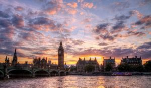 Big Ben at sunset by RaffertyEvans