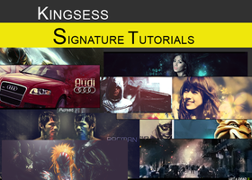 Signature Tutorials by kingsess