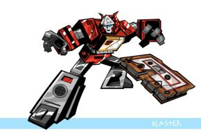 Transformers Blaster by UltimateOshima