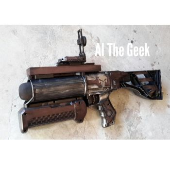 Nerf grenade launcher by AlTheGeek