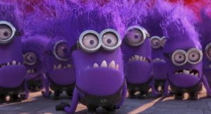 Despicable Me 2 gif - Evil minion yells by AdolfWolfed4Life