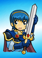 Fire Emblem - Marth by desfunk