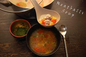 Meatballs Soup by WhatsToEast