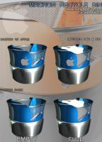 Macron Recycle Bin by Xengraphics