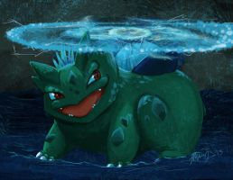 October 4 - EMP Bulbasaur by shelldragon