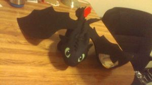 14 in. How To Train Your Dragon 2 Toothless Plush by PokeLoveroftheWorld