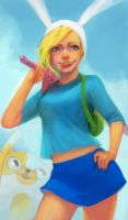 Fionna and Cake by leefaan