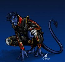 Nightcrawler again by JillJohansen