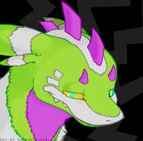 Rave Monster by RadioactiveBirds