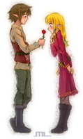 A Rose For A Pretty Girl by MLeth