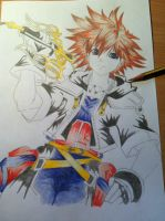 Sora from Kingdom Hearts by IxXNikkiXxI