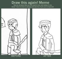 Before and After Meme by Nanemae