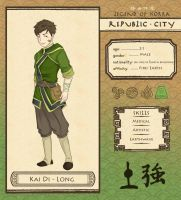 Republic City: Kai Di-Long by GonChan01