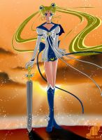 Sailor Warrior Moon by Black-Umi