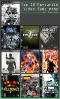 Top Fav PS3 games by Starwarsclub123