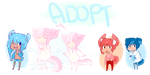 4 Inumimi Adoptables SOLD by 666phantomoftheopera