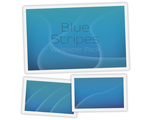 Blue Stripes Wallpapers by UltraBE