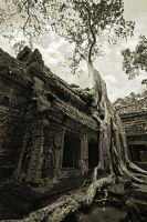 Ancient Temple by stinebamse
