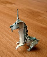 20 Dollar Bill Unicorn by craigfoldsfives