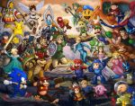 Super Smash Brothers by Krikin