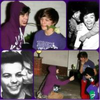collage de larry stylinson (harry y louis) by camii-directioner