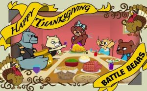 Happy thanksgiving from the battle bearsXD by Ai-Amaterasu