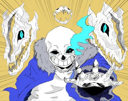 Sans by animeknight13