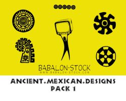 Ancient.Mexican.Designs pack 1 by Babalon-Stock