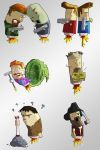 Rocket Riot - Characters by whatisvisceral