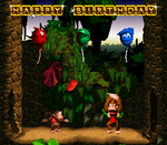 Donkey Kong Country Birthday Card by TheWolfBunny