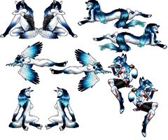 Wolfhome Poses by Winter-Falls