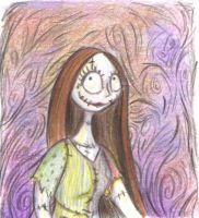 Sally in Colored Pencil by DupleSnowflake