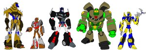 Transformers animated Maximals by tritie