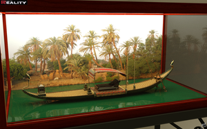 Sacred Barge Model by mbinz