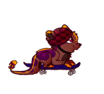 Layi is skating owo by MissLayira