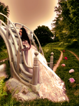 .:Roses on the path:. by AnSweetPrincess