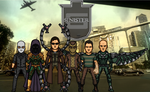 The Sinister Six (New Earth) by Hernan20X