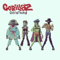 Gorillaz - DoYaThing 8 bit Single Cover by MorganYoung