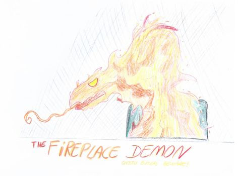 The Fireplace Demon by ScroogeMacDuck