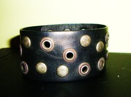 Black bracelet by Laura-in-china
