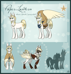 Paper Lantern Official Reference by IridescentMirage